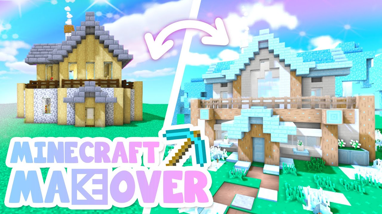 💙TINY HOUSE Transformation! Minecraft Makeover Ep.9