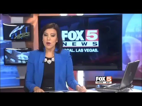 TV Fox 5 Interview at Las Vegas Library District.