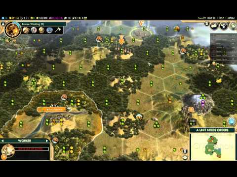 Civilization V BNW - Dutch Deity Domination - Honor - Commer