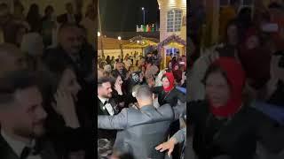 رقص العروسه والله ولع دنيا ❤️