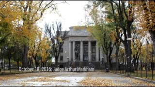 Bill's Newscast: Judge Markham to retire