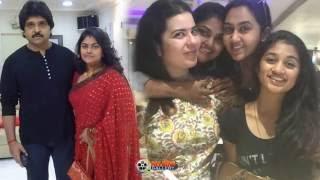 Actress Nirosha Family Photos - Husband Ramki & Unseen Family Images