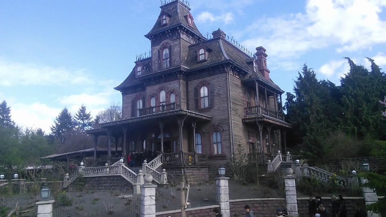 haunted mansion at disneyland paris youtube