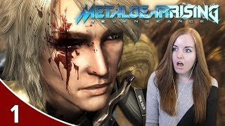 Wow This Is Brutal!! - Metal Gear Rising: Revengeance Gameplay Part 1