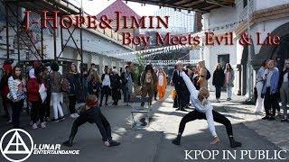 [KPOP IN PUBLIC] BTS(방탄소년단) - Boy meets Evil&Lie (cover by LED) (Russia)