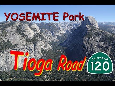Tioga Road, Crossing YOSEMITE National Park