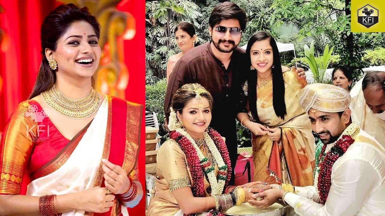 ರಚಿತಾ ರಾಮ್ ಅಕ್ಕನ ಮದುವೆ ಫೋಟೋಸ್   Rachita Ram Sister Marriage   Nandini  Serial Actress Nithya Ram