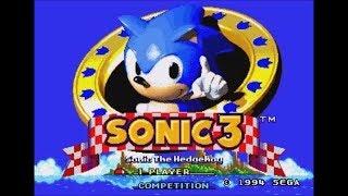 Dark Sonic in Sonic the Hedgehog 3 (Genesis) - Longplay