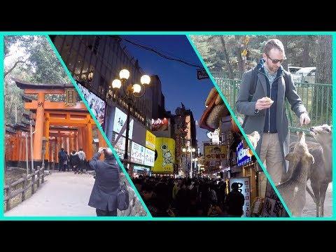 Exploring Osaka, Kyoto, and Nara Japan