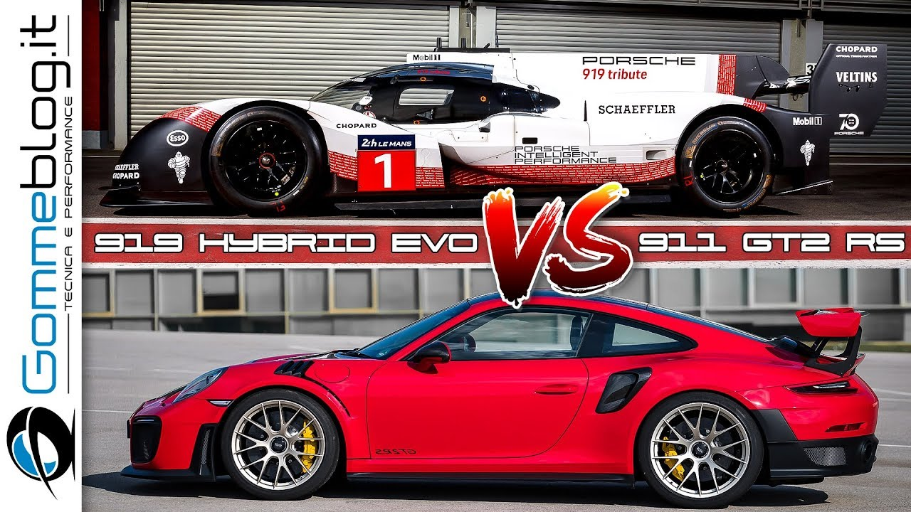 Nurburgring Porsche  Evo Vs  Gt Rs Onboard Comparison