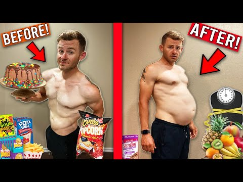 I Tried To Gain 30 POUNDS in ONE DAY!