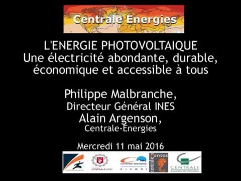 L'énergie photovoltaïque, une électricité abondante, durable, économique et accessible à tous