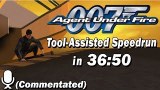 [TAS WR] 007: Agent Under Fire in 36:50 (Commentated)