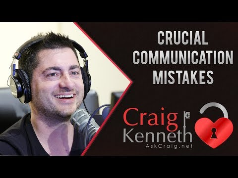 Crucial Communication Mistakes