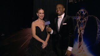 70th Emmy Awards: Backstage LIVE! with Sarah Paulson