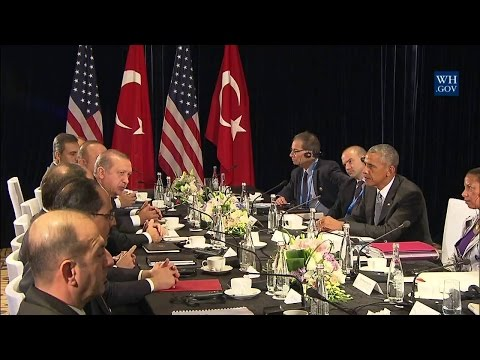 President Obama Meets with President Erdogan