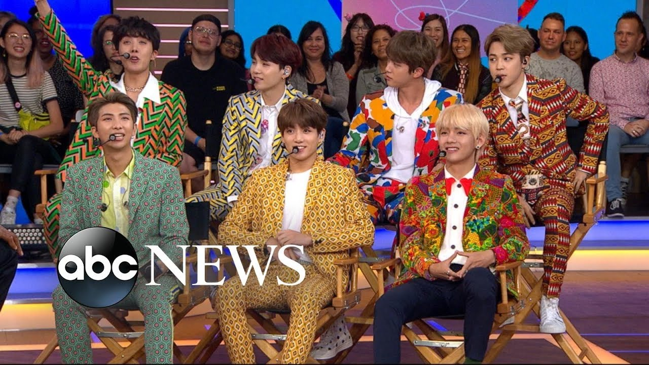 Bts One Of The Hottest Music Groups In The World Speaks Out On Gma Good Morning America