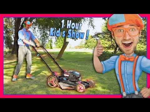 Thumbnail: Blippi Videos for Children | Lawn Mower and More!