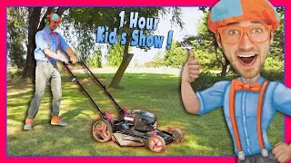 Blippi Videos for Children | Lawn Mower and More! thumbnail