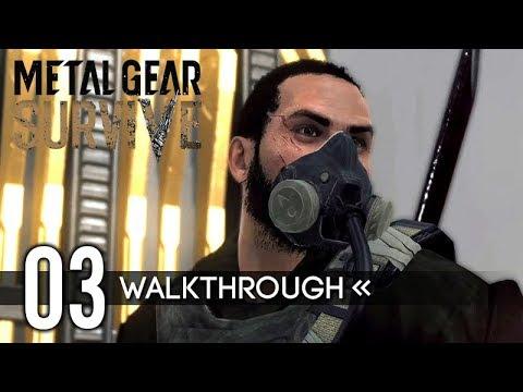 Metal Gear Survive | Gameplay Walkthrough | PART 3 - Wormhole Transporter 【Full Game】