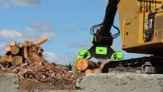 Download Video WBM Excavator HCL Grapple MP3 3GP MP4