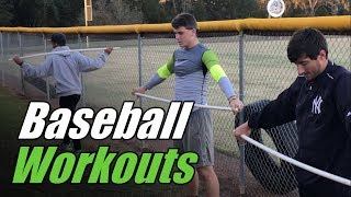 Baseball Workouts for Baseball Players who Aspire to be GREAT!