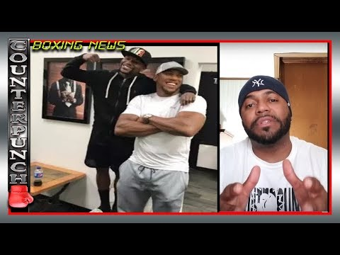 "FLOYD MAYWEATHER ""ANTHONY JOSHUA VS DEONTAY WILDER SHOULD BE IN THE UK"""