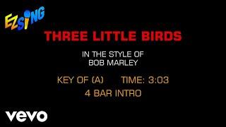 Bob Marley & The Wailers - Three Little Birds (Karaoke)