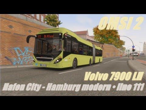OMSI 2 • Hafen City - Hamburg modern (line 111) • Volvo 7900 LH