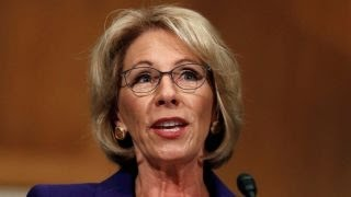 Education secretary nominee Betsy DeVos questioned on Capitol Hill