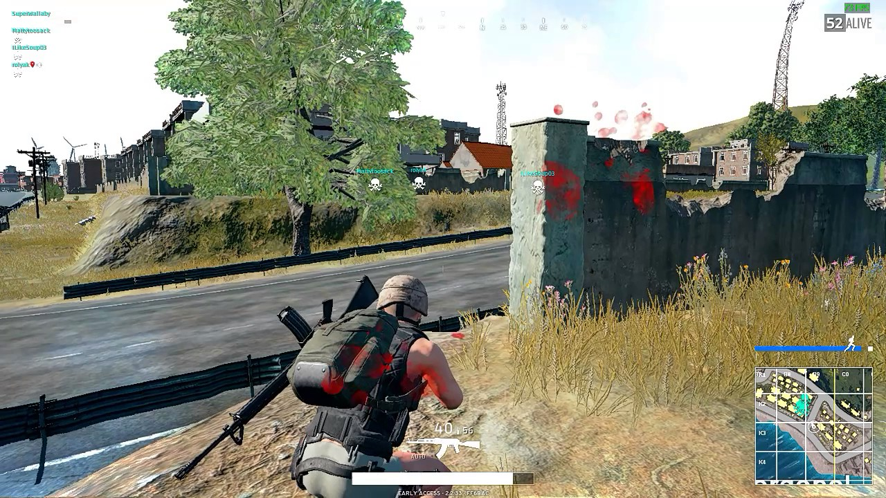 Really Dumb 1v4 In Pubg, Flying Ak Spray