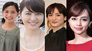 過去に坊主頭を披露した女性芸能人たち【綾瀬はるか,長澤まさみ,ICONIQ...