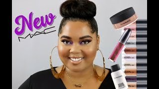 NEW MAC Collections | Supreme Beam + Dazzleshadow Liquid Shadows | Review, Swatches, & Tutorial