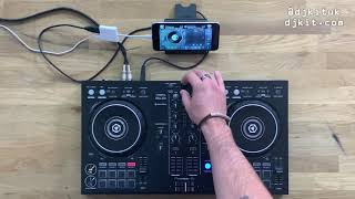 How to play Spotify on the Pioneer DJ DDJ-400 - Full Algoriddim Djay tutorial! #TheRatcave
