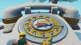✅ Dial the Durrr Burger number on the big telephone west of Fatal Fields - Fortnite Week 8 Season 8