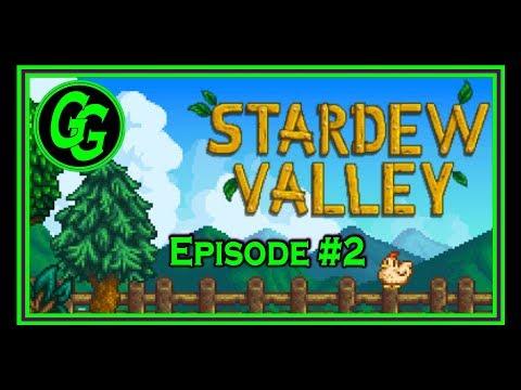 Glieken Gaming: Stardew Valley #2 - Meeting Strangers