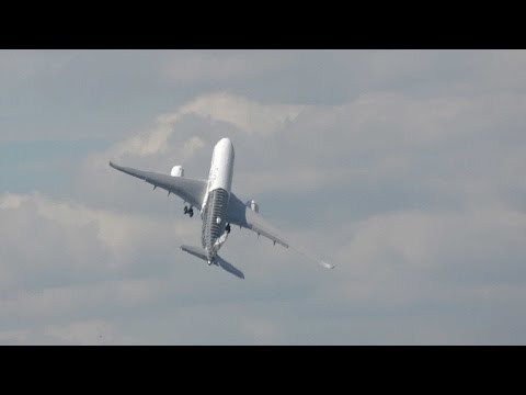 Plane Takes Sudden Near Vertical Take-Off