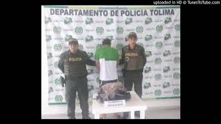 Teniente Coronel William Castaño de la Policía del Tolima