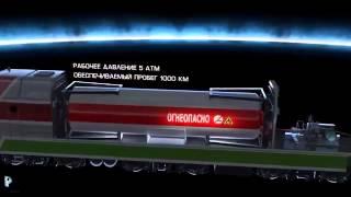 Газотурбовоз ГТ 1  СПГ как моторное топливо