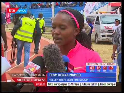 Athletics Kenya names Team Kenya for the world