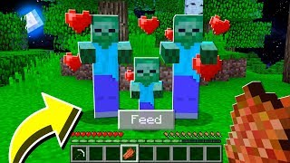 How to BREED ZOMBIES in Minecraft TUTORIAL! (Pocket Edition, Xbox, PC)