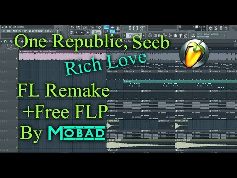 One Republic, Seeb - Rich Love (FL STUDIO REMAKE + FLP)