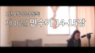 [1년1독 성경통독/개역개정] 제46일 민수기 14-1…