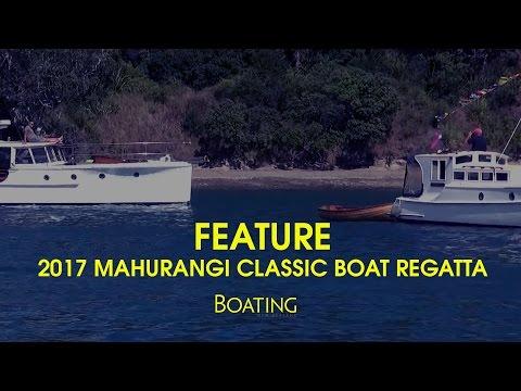 Mahurangi Classic Boats 2017 Regatta