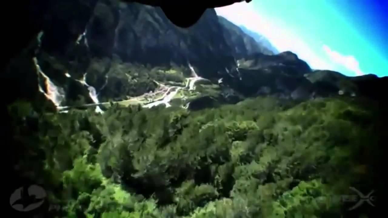 Летающие люди.Мы научились летать.костюм крыло - YouTube