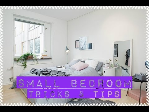 How To Arrange A Small Bedroom | DIY Tricks U0026 Tips | Tiny Bedroom Decor  Ideas