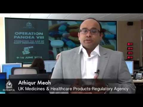 Operation Pangea VIII: Athiqur Meah, UK Medicines & Healthcare Products Regulatory Agency