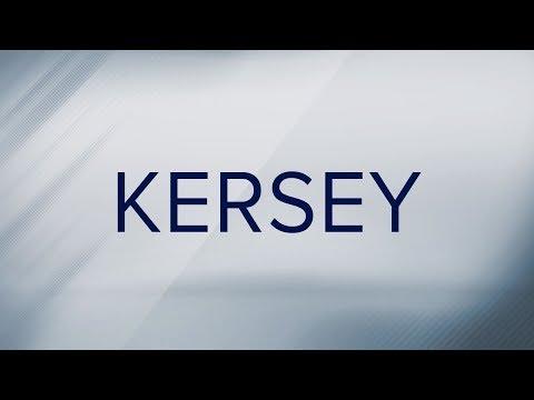 How do you pronounce 'Kersey'? - YouTube