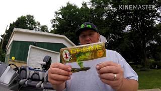 Bass Fishing with the Creme Lures Speed Scremer