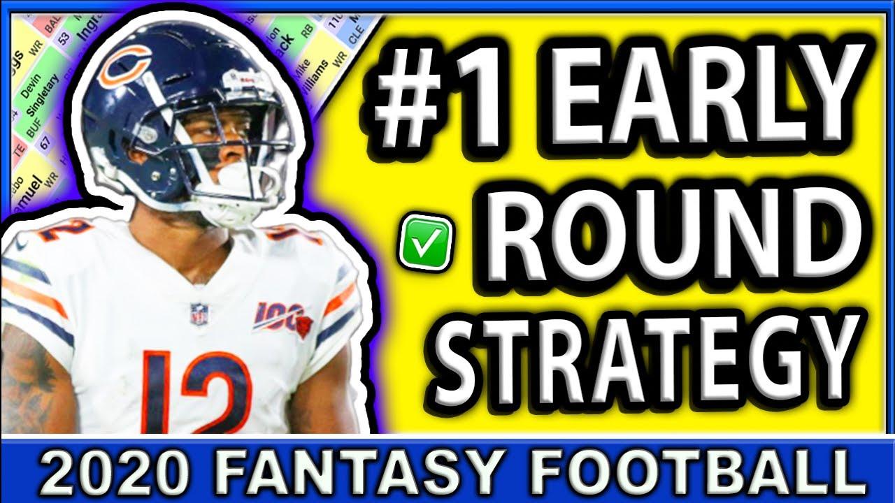 2020 Fantasy Football #1 Early Round Draft Strategy